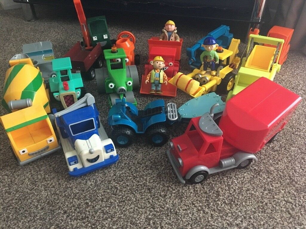 BOB THE BUILDER VEHICLES