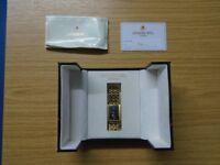 Raymond Weil Geneve 18 K Gold Quartz Watch n Ref 9826-2