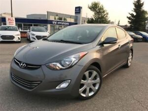 2012 Hyundai Elantra Limited- LEATHER HEATED SEATS, NAVIGATION