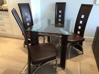 1 x Dining table,