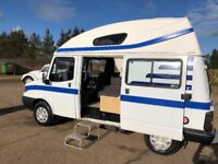 ldv enc fifer 2 berth motorhome,1.9 peugeot diesel with power steering,2000 w reg,cheap starter van