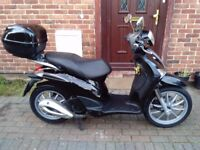 2011 Piaggio Liberty 125 automatic scooter, long MOT, top box, very good condition, very low miles,,