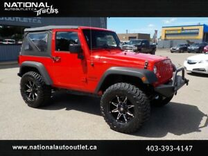 2015 Jeep Wrangler Sport LIFTED
