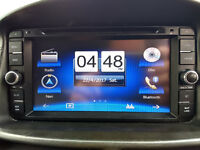 """Toyota 7"""" Touch Screen DVD GPS Sat Nav Bluetooth USB SD AUX Stereo (inc remote and 500 video clips)"""