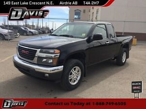2010 GMC Canyon SLE CD PLAYER, AM/FM RADIO, SEATS 4
