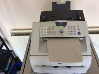 Brother fax -2820 machine for sale- good working order