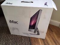 Apple iMac 24' Intel dual core 2.93GHZ, 4GB ram, 1TB hard drive, GeforceGT 120, Boxed