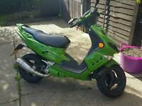 Peugot speedfight ped 70cc malossi very fast