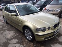 BMW 3 Series 1.8 316ti SE Compact 3dr£985 FREE WARRANTY. LONG MOT