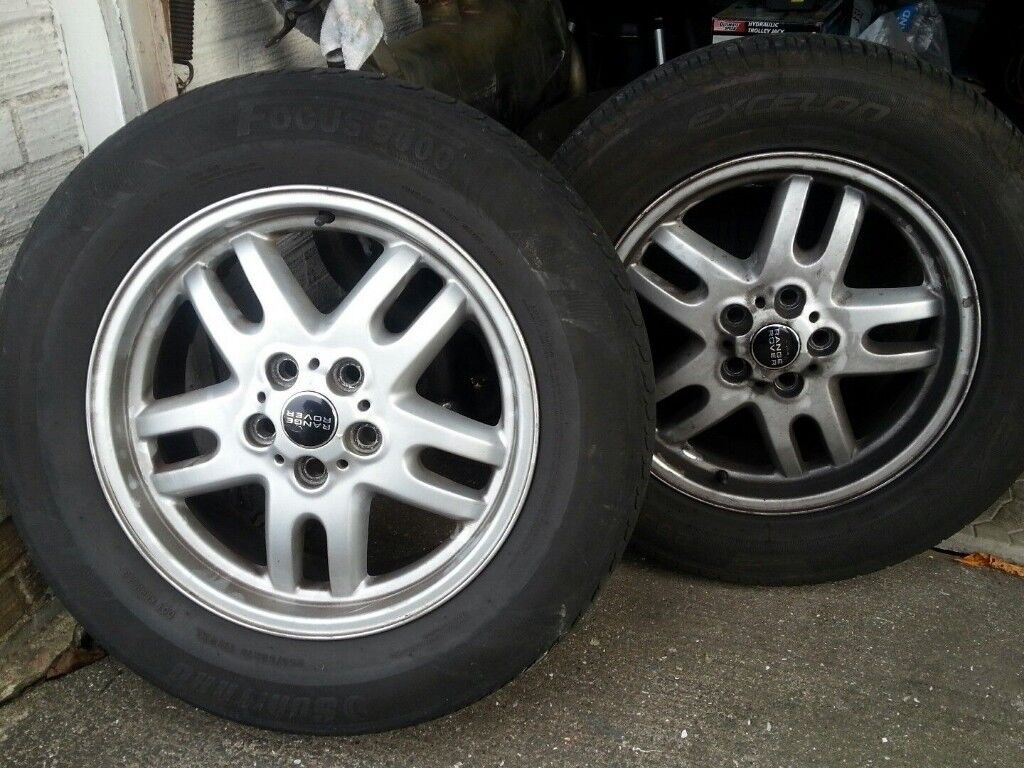 Land Rover Range Rover Alloy Wheels x4