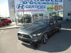 2015 Ford Mustang V6 DÉCAPOTABLE 18788 KM V6
