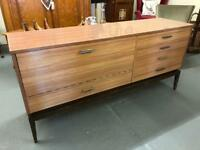 Fabulous mid century sideboard with drinks cabinet.