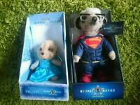 Sergei Superman / Ayana Elsa Frozen Meerkat Limited Edition Toy Compare the Market TV Teddy Bear