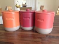 Coffee-Tea-Sugar canisters from NEXT