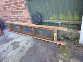 free glass wood windows