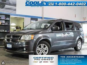 2016 Dodge Grand Caravan Crew/Heated Steering Wheel/Heated Seats
