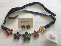Cath Kidston earrings and necklace set