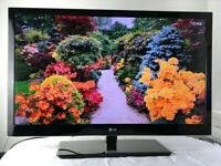 LG 42 inch super slim full HD LED 3D TV with Built in Freeview, Excellent condition