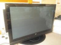 "LG 50"" PLASMA TV FOR SPARES OR REPAIR"