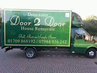 Doncaster door 2 door house removals man and van doncaster