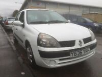 Renault Clio 1.2 16v 12 Months M.O.T New cambelt