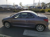 Peugeot 206cc Convertable!! Spares And Repairs!! Bargain! Please Read Carefully!!