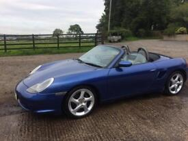2004 Porsche Boxster 2.7. (Face lift model)