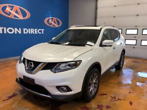 2015 Nissan Rogue SL AWD/ HEATED LEATHER/ NAVI/ VISTA ROOF/ R...