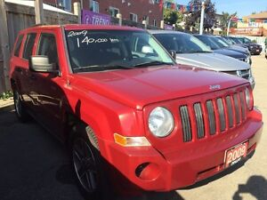 2009 Jeep Patriot Low KM 140K 4 Cyl. 4x4 All Power Opts MINT!!