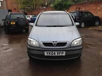 Vauxhall zafira 2004 diesel hi clear