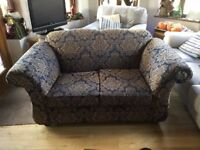 two identical two seating sofas -FREE to collect