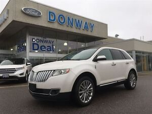 2011 Lincoln MKX AWD LOADED|LEATHER|NAVIGATION|SUNROOF|