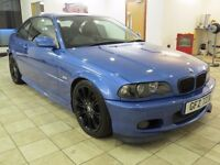 !!CLUBSPORT!! 2002 BMW 330CS MANUAL / 12 MONTHS MOT / ESTROIL BLUE / BLACK LEATHER / MUST SEE