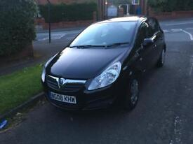 VAUXHALL CORSA 1.3 DIESEL 5 DOOR 2008 £30 ROAD TAX YEAR