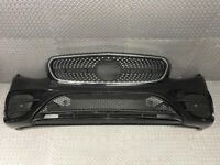 2016 - 2018 MERCEDES BENZ E CLASS W203 AMG LINE NEARLY FULLY COMPLETE FRONT BUMPER IN BLACK BREAKING for sale  Halifax, West Yorkshire