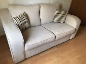 2 seater sofa bed for sale. Hardley used, very clean.