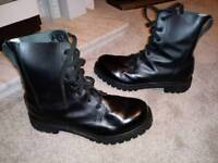 Army Boots, size 11, mint condition.