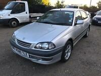 TOYOTA AVENSIS 1.8 AUTOMATIC R REG MINT CONDITION £350