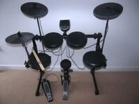 Alesis DM6 USB Electronic Drum Kit with , Pads , Cymbals , Hi-Hat , Bass Pedal and Stool / Boxed !