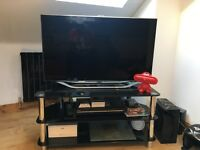 Great condition Samsung 42' 3D LCD TV with 5.1 surround + blue ray player