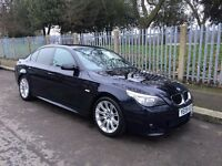 '09' BMW 5 Series 2.0 520d M Sport 4dr - Full BMW Service History - 76k miles
