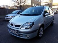 2003 Renault MEGANE SCENIC FIDJI 1.6 MANUAL LONG MOT SERVICE HISTORY VERY GOOD CONDITION `
