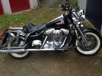Harley 1450 tourglide custom for sale or pix for 1340 harley