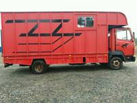 Mercedes 814 Horsebox