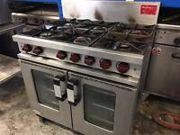 Moorwood Vulcan M Line 6 Burner Gas Cooker