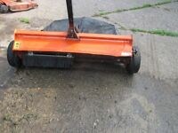 AG FAB SWEEPER/COLLECTOR FOR GRASSED AREAS