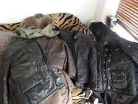 Classic Quilt Jackets Farmers Sports Coats x 5