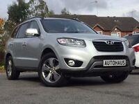 2012 Hyundai Santa Fe 2.2 CRDi Style 5dr CAMERA+ HEATED LEATHER + NAV not kia sportage qashqai ix30