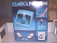 The Classic Clairol Foot Spa.