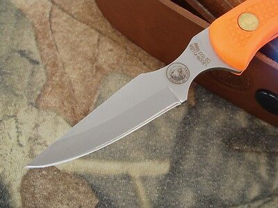 Knives of Alaska Knife Cub Bear  Hunting Caping D2 Blaze Orange Deer Elk Alaska Cub Bear Knife